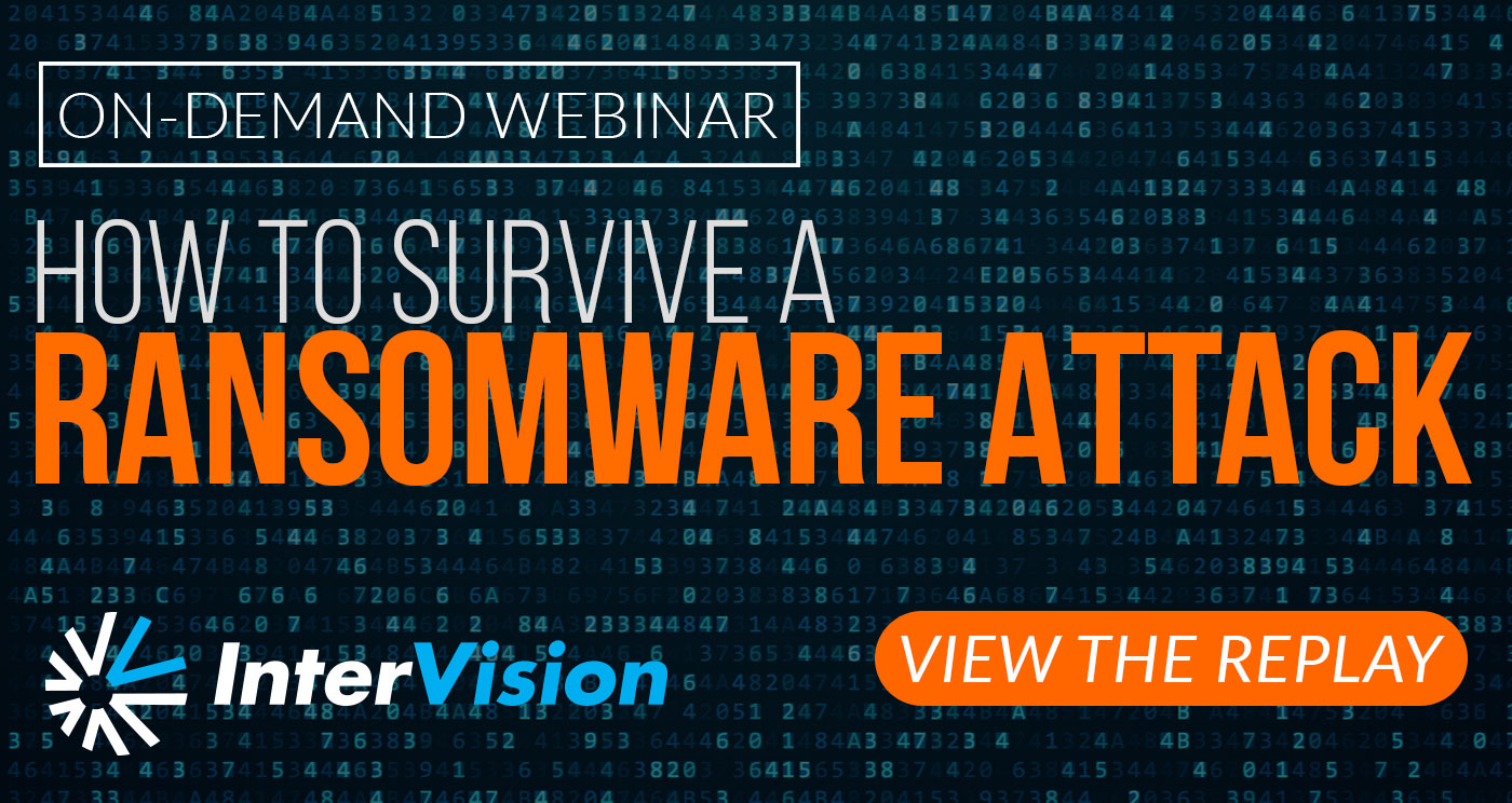 Disaster Recovery as a Service - Ransomware Attack